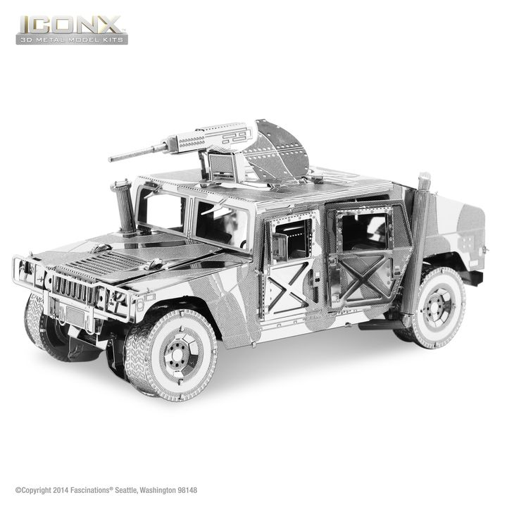 Metal Earth: Humvee