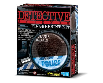 Detective Science: Fingerprint Kit