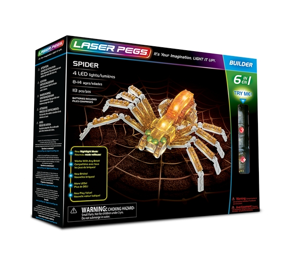 Laser Pegs 6 in 1 Spider
