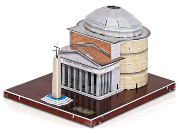 3D Puzzel Pantheon