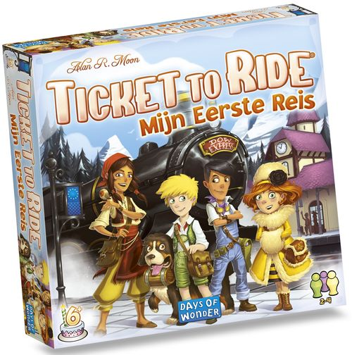 Ticket to Ride: Mijn eerst Reis
