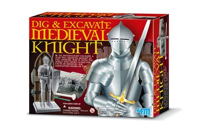 DIG A MEDIEVAL KNIGHT