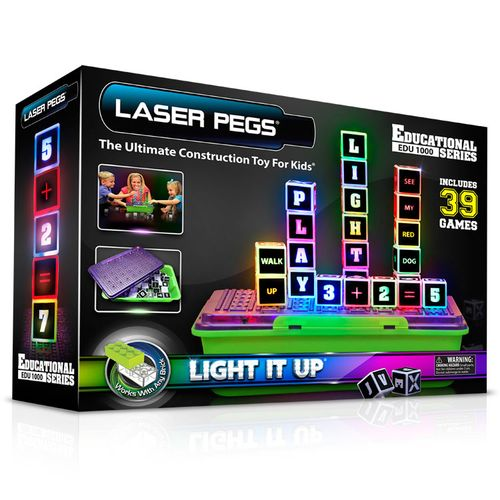 Laser Pegs Educational Series (English)