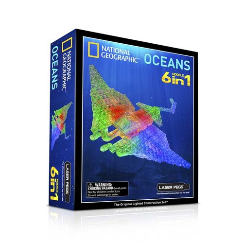 Laser Pegs National Geographic Oceanen