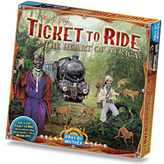 Ticket to Ride The Heart of Afrika (Extention)