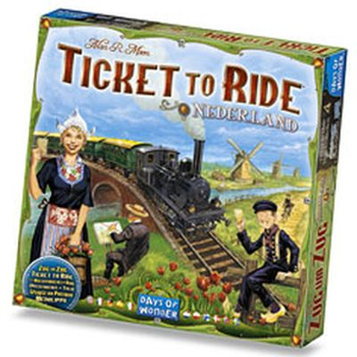 Ticket to Ride Netherlands, Expansion